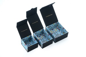 ZH03-005 book shaped paper cardboard jewelry gift collecton box