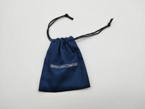 BD-007 Elegant Flannel Velvet Drawstring Jewelry storage Bags