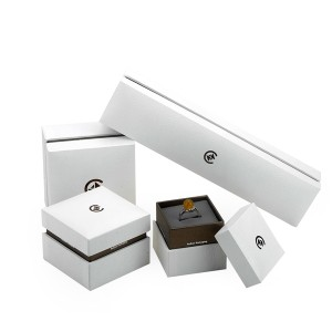 ZHQT-002 Fancy and beautiful  two piece jewelry gift and display box