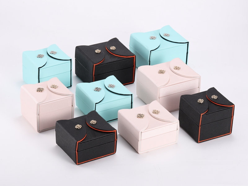 ZTB-116 elegant good looking jewelry gift and display box with button lock