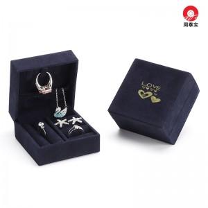 ZTB-156  Mini jewelry storage case -mini jewelry storage box with velvet cover