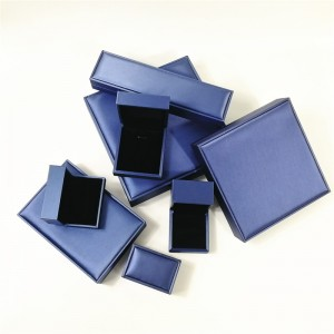 ZTB-051 Touch feeling PU jewelry gift box for proposal,Engagement,Wedding,Gift