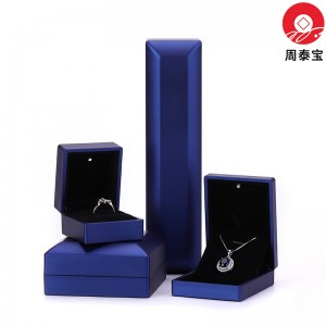 ZTB-151 plastic painted LED lighted jewelry gift box
