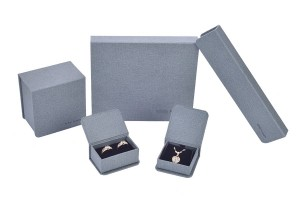ZH03-002  Book structure paper cardboard jewelry display gift box