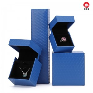 ZTB-153 Special structure plastic jewelry box