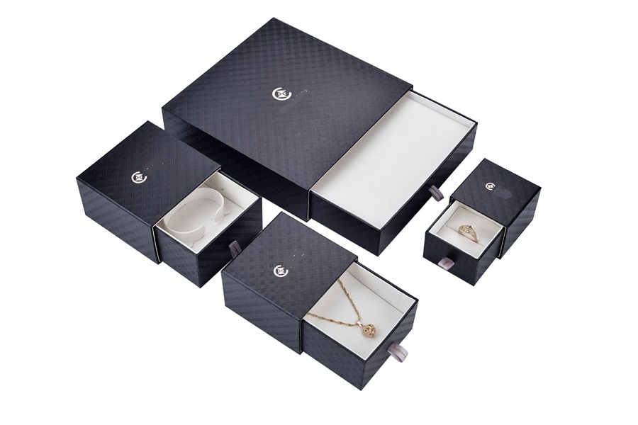 ZH01-003 drawer structure paper cardboard jewelry box