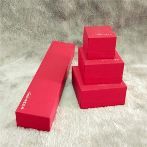 ZTB-025 touch feeling paper laminated plastic j...