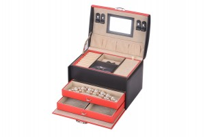 XZ-002 High level jewelry storage box  collection case