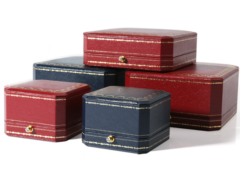 ZTB-056 High end jewelry gift box and special design for jewelry storage and display