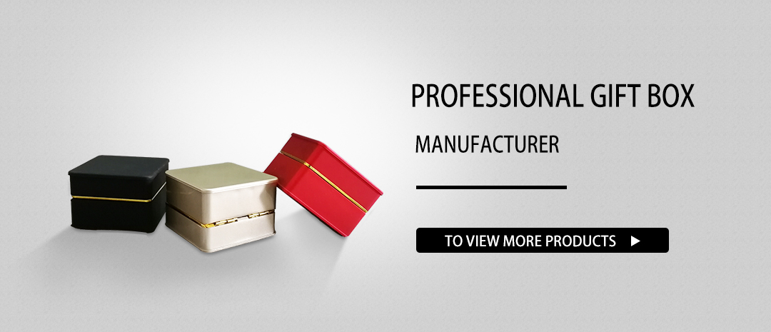 professional gift box manufacturer for jewelery packing