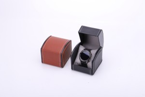 WB-004 unique design nice surface touch feeling watch box
