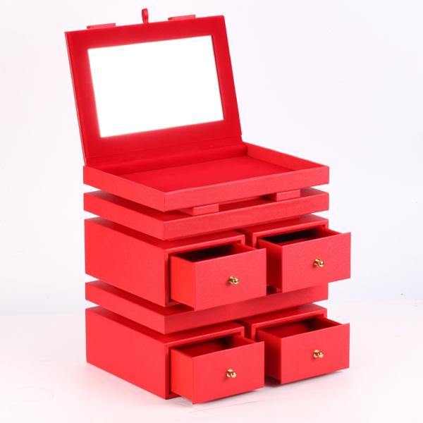 XZ-004 High level jewelry storage box  collection case