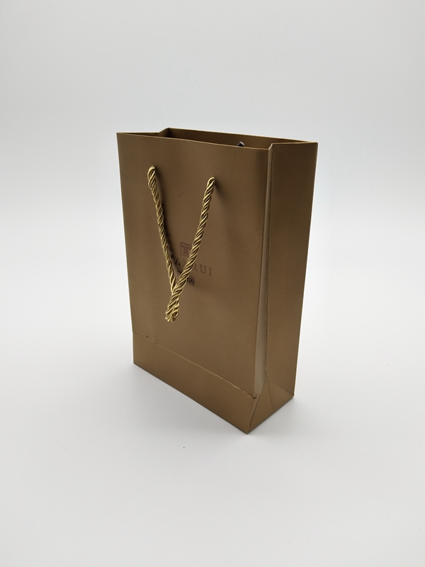 ZD-005 Paper jewelry gift party bags with handle