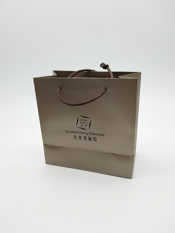 ZD-017 Paper Jewelry Gift Storage Packing bag