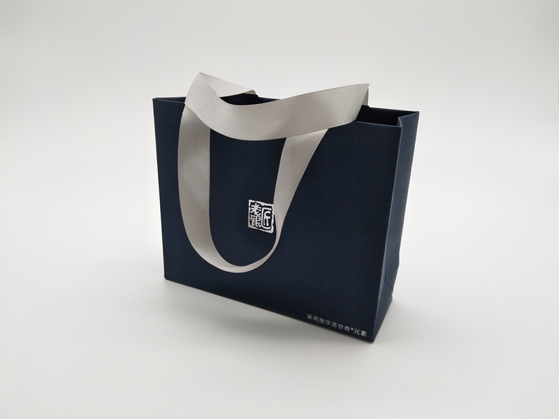ZD-001 Paper jewelry gift party bags with handle