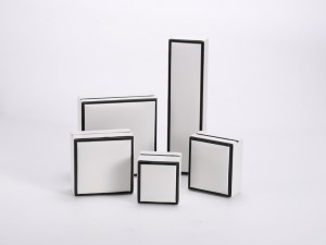 ZTB-108 plastic hinged box for jewelry storage and display