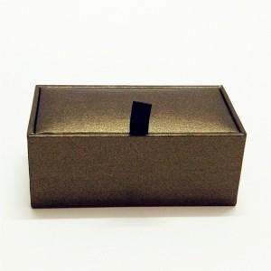 ZTB-024-Paper cardboard cufflink gift box for c...