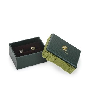 ZH05-003  two pieces paper cardboard jewelry display box
