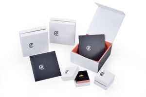 ZHQT-003  two piece jewelry case jewelry collection box