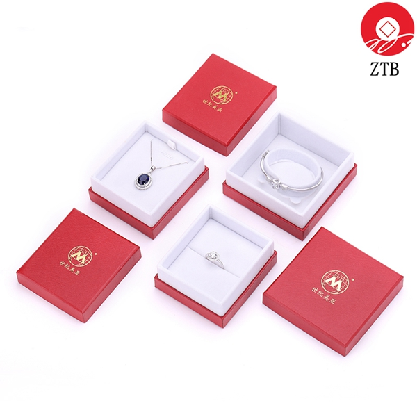ZTB-098 two pieces cardboard jewelry box for display and promotion
