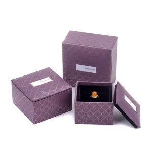 ZHQT-001  two piece jewelry case jewelry collection box