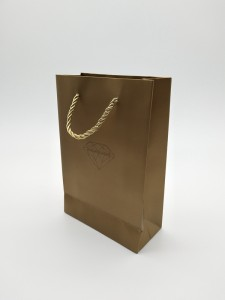 ZD-016 Paper Jewelry Gift Storage Packing bag