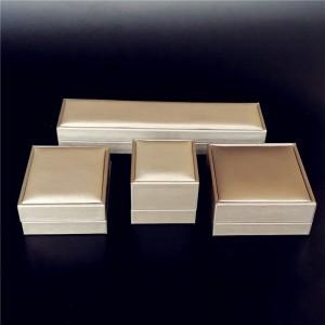 ZTB-028 high end PU laminated plastic jewelry gift box