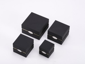 ZTB-106 fancy hinged plastic jewelry display box