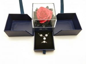 New and fancy design jewelry gift box ,which can make you jewelry and brand more attractive
