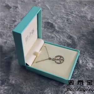 ZTB-022 paper laminated plastic pendant jewelry gift box