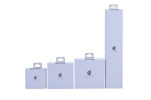 ZH02-001 Hanging structure paper cardboard jewelry box for display